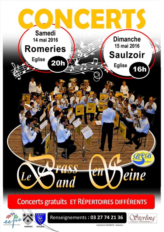 brass band affiche