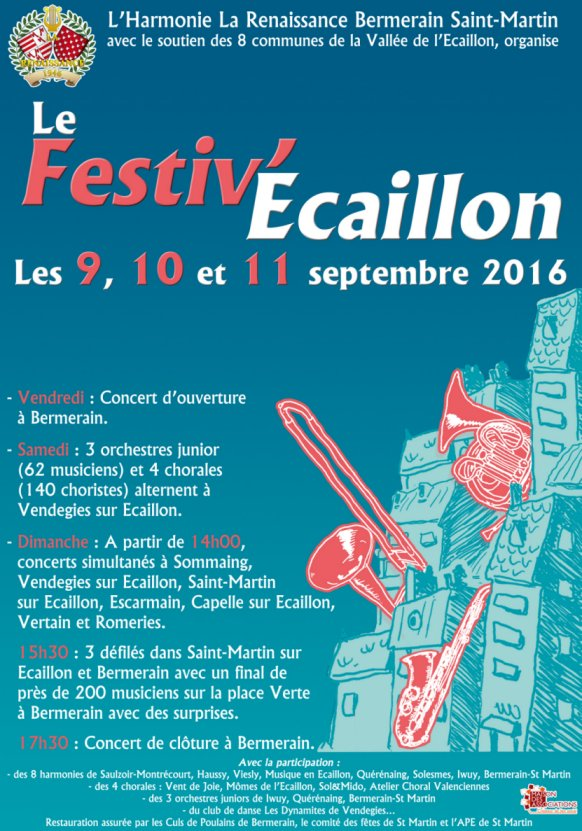 festiv ecaillon 8 avril 2016